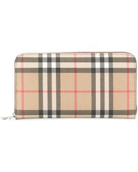 Burberry Elmore Leather Wallet - Brown