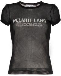 Helmut Lang - Logo T-shirt - Lyst