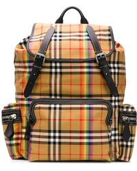 Burberry - The Large Rucksack In Vintage Check - Lyst