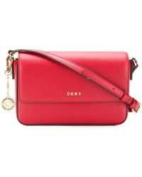 DKNY - Bryant Leather Crossbody Bag - Lyst