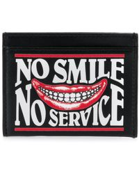 Stella McCartney - No Smile No Service Printed Card Holder - Lyst