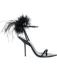Saint Laurent - Mansour 105 Leather Court Shoes - Lyst
