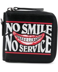 Stella McCartney - No Smile No Service Printed Wallet - Lyst