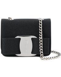 Ferragamo - Vara Leather Shoulder Bag - Lyst