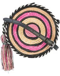Rebecca Minkoff - Straw Circle Pochette - Lyst