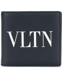 Valentino - Vltn Billfold Wallet - Lyst