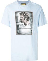 Barbour - Steve Mcqueen Print Cotton T-shirt - Lyst
