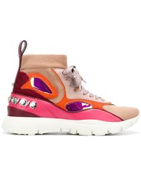 Valentino - High-top Trainers - Lyst