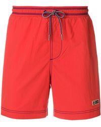 Napapijri - Drawstring Swim Shorts - Lyst