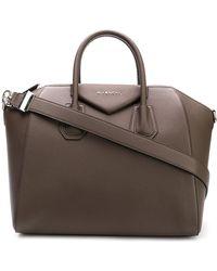 Givenchy - Antigona Leather Shoulder Bag - Lyst
