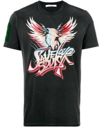 Givenchy - Wings Print Short-sleeve T-shirt - Lyst