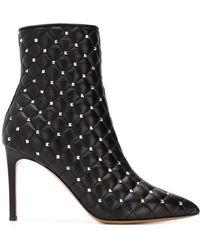 Valentino - Garavani Rockstud Spike Ankle Boots - Lyst