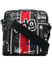 Dolce & Gabbana | Graffiti Print Shoulder Bag | Lyst