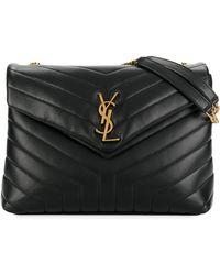 Saint Laurent - Loulou Medium Shoulder Bag - Lyst 0eb930168269c