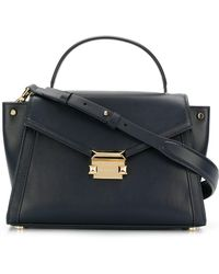 MICHAEL Michael Kors - M Group Leather Shoulder Bag - Lyst