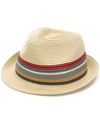 Barbour - Rainbow Striped Hat - Lyst