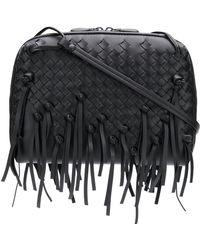 Bottega Veneta - Nodini Leather Shoulder Bag - Lyst
