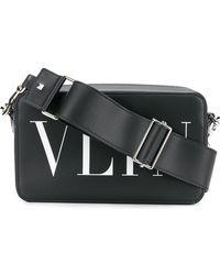 Valentino - Vltn Cross Body Bag In Leather - Lyst
