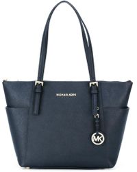 MICHAEL Michael Kors - Jet Set Item Saffiano Leather Tote Bag - Lyst