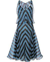 Fendi - Silk Cotton Dress - Lyst