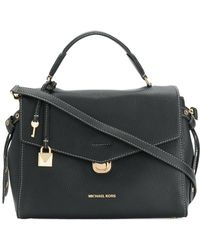 MICHAEL Michael Kors - Bristol Leather Shoulder Bag - Lyst