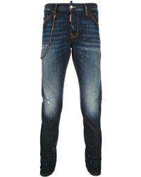 DSquared² - Sexy Twist Jeans - Lyst