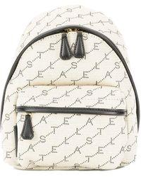 Stella McCartney - Beige Polyester Backpack - Lyst