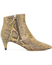 Isabel Marant - Deby Leather Boots - Lyst