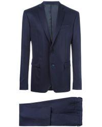 Versace - Suit In Wool - Lyst