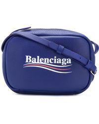 Balenciaga - Everyday Xs Camera Bag With Campaign Logo - Lyst