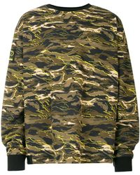 PUMA - Oversize Crewneck Sweatshirt - Lyst