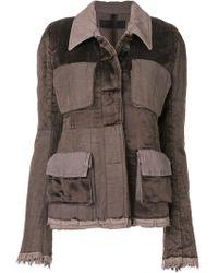 Haider Ackermann - Cotton Jacket - Lyst