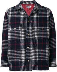 Isabel Marant - Gervey Checked Wool Shirt - Lyst