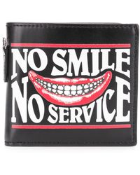 Stella McCartney - No Smile No Service Printed Wallet - Lyst