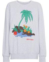 Palm Angels | Palm Print Sweatshirt | Lyst