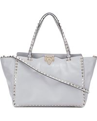 Valentino - Rockstud Medium Shopping Tote - Lyst