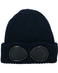 C P Company - Wool Knit Cap - Lyst