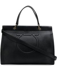 Ferragamo - Meera Leather Shoulder Bag - Lyst