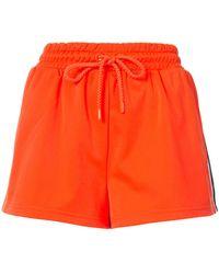 PUMA - Side Split Shorts - Lyst