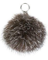 MICHAEL Michael Kors - Fox Fur Charm - Lyst