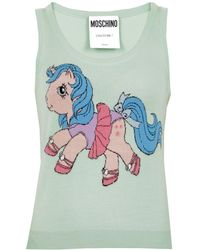Moschino - Top #littlepony - Lyst