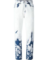 Gucci - Hand-bleached Denim Pant - Lyst