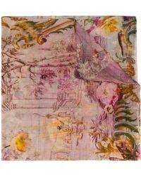 Faliero Sarti - Garden Printed Stole - Lyst