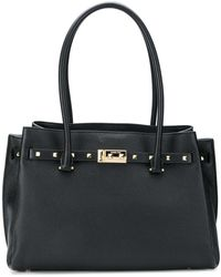 MICHAEL Michael Kors - Addison Large Leather Tote Bag - Lyst