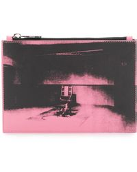 CALVIN KLEIN 205W39NYC - X Andy Warhol Foundation Little Electric Chair Clutch Bag - Lyst