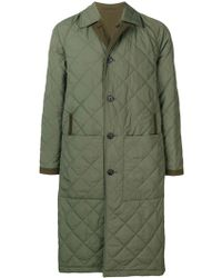 Burberry Long Quilted Ableford Coat