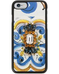 Dolce & Gabbana - Printed Smartphone Cover - Lyst