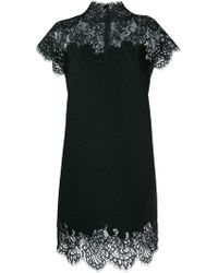 Ermanno Scervino - Dress With Lace Details - Lyst