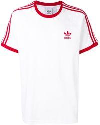 bae86d0ad15 Lyst - adidas Logo-printed T-shirt for Men