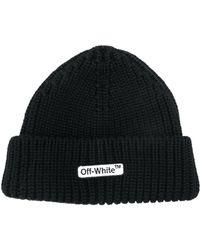 Off-White c/o Virgil Abloh - Logo Print Hat - Lyst